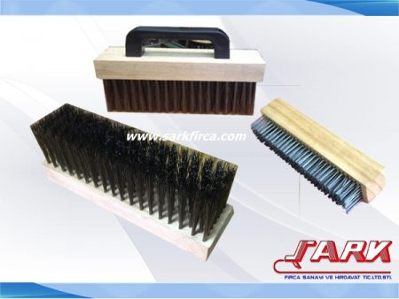 Wood Block Tempered Steel Wire Brush