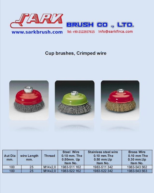 Cup-Brushes-Crimped-wire-Sark-Brush
